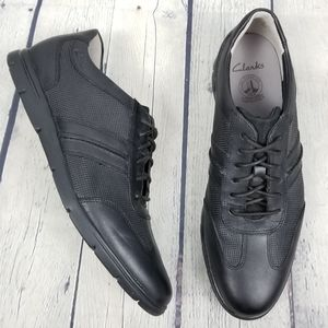 CLARKS | lace-up lightweight casual shoes